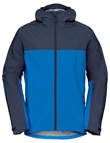 Vaude Herren Moab Rain Jacket Jacke, Radiate Blue, XL