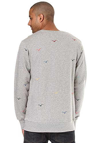 Cleptomanicx Seagull Pullover Heather Gray