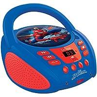 Lexibook Marvel Spider-Man Peter Parker Radio lecteur CD, Entrée line-in, Pile ou Secteur, Bleu/Rouge, RCD108SP_10
