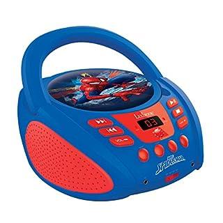 LEXIBOOK Radio CD player, AC or battery-operated, Heapdhones jack, AUX-IN jack, AC or battery-operated