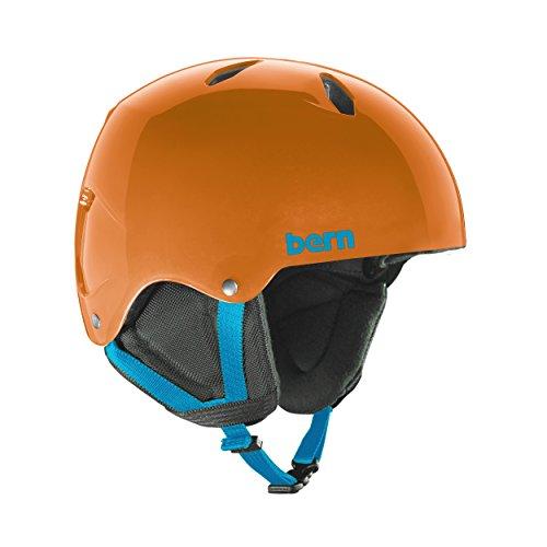 Bern Jungen Team Diablo Helm, Orange (Translucent Orange), M Preisvergleich