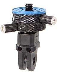iSHOXS Tripod-2-ProFork, 1/4 Zoll Gewindeadapter in Industriequalität zum Anschluss an iSHOXS Mounts und GoPro Halterungen