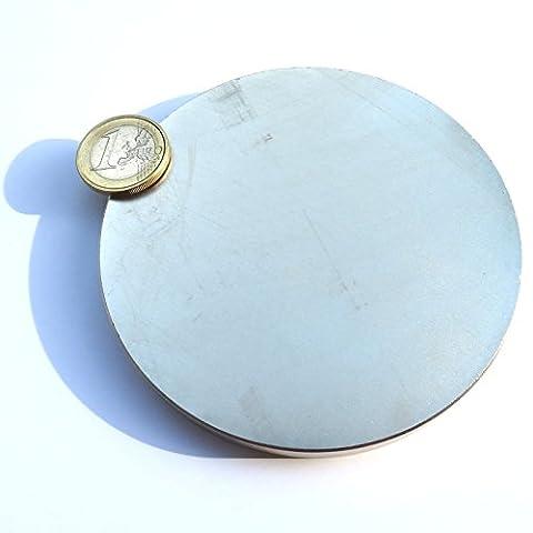 Super aimant Disque en néodyme 100x 10mm. Puissance 400kg. NdFeB moteur Free Energy Engine Power eau magnetizzata magnétothérapie Climsom