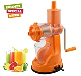 Floraware Plastic Fruit and Vegetable Juicer, 150ml, Orange (Ipl_Orange_2-Flora)