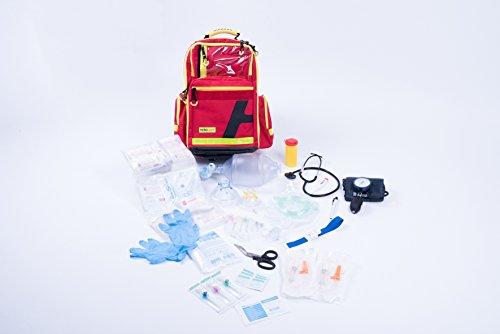 Notfallrucksack Gr. L - Nylon- komplett gefüllt - MIH Medical