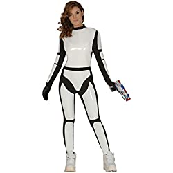 Guirca - Disfraz adulta soldado espacial, Talla 38-44 (84528.0)