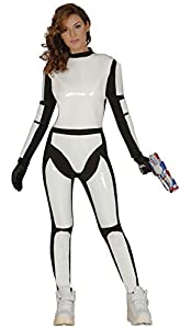 Guirca- Disfraz adulta soldado espacial, Talla 36-40 (84969.0)