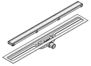 I-DRAIN Drain Linear Länge 120cm Duschrinne 54 mm Einbauhöhe 1 Siphon