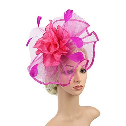 Mitlfuny Karnevalsparty Fancy Festival Zubehör,Kopfschmuck Feder Flapper Stirnband Kopfschmuck Vintage Prom Great Gatsby Stirnband