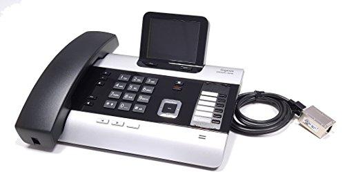 Gigaset DX600A modifiziert - mit DHSG/EHS Headsetschnittstelle - Kompatibel mit Plantronics, Jabra, Sennheiser