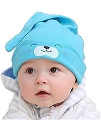 Sombrero de algodón unisex para bebés, gorros de dormir, gorros suaves para recién nacido