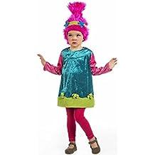 Disfraz de Troll Cariñosa para bebé y niña
