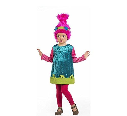 Disfraz Trolls Poppy (bebé y niña)