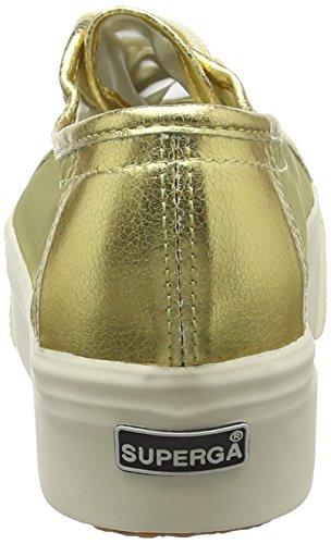 Superga 2790 Netw, Sneakers basses mixte adulte Doré
