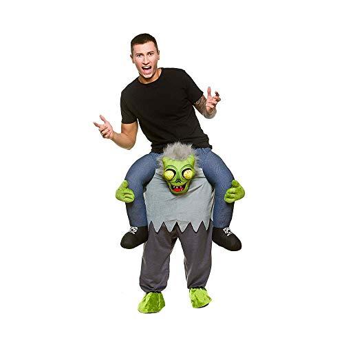 Kostüm Dress Wicked Fancy - Carry Me® Zombie Erwachsene Kostüm One Size Fancy Dress Kostüm