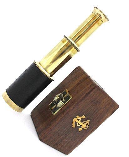 brass-pocket-telescope-6-inch-brass-telescope-with-hard-wood-box
