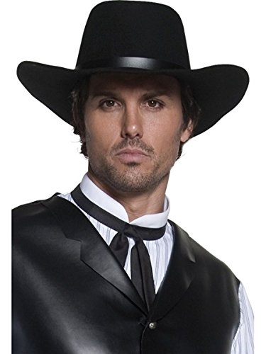 Revolverheld Zubehör Kostüm - Smiffys Western Kostüm Zubehör Cowboyhut Revolverheld Hut Karneval Fasching