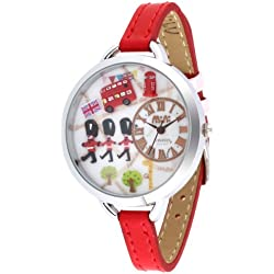 ufengke® brand polymer clay cartoon fashion creative children watch for girls women lady-london cross road dial