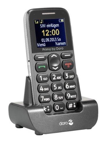 Primo 215 by Doro GSM Mobiltelefon mit Tischladestation