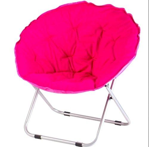 SMACO Moon Chair Grande Chaise Pliante Lune Adulte Tabouret Pliant Violet Bleu
