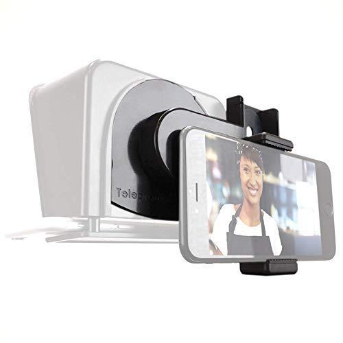 TP-Smartclip accesorio para Parrot Teleprompter 1 y 2 [prompter no  incluido]  Graba vídeo con tu Smartphone en un Parrot Teleprompter