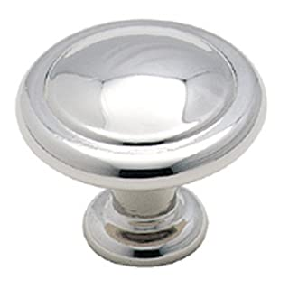 Amerock BP138726 Reflections Knob, Polished Chrome, 1-1/4-Inch Diameter by Amerock