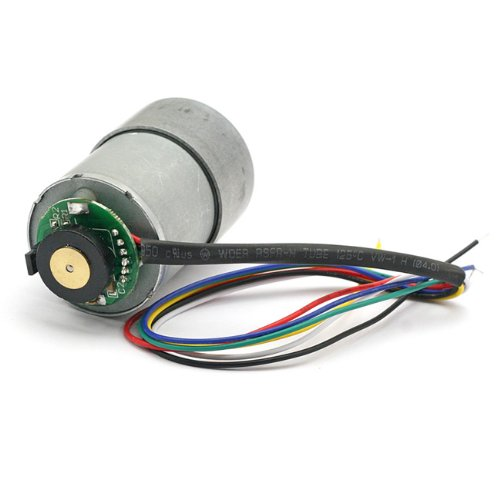 Metal Gearmotor with Encoder 12V 365rpm Test