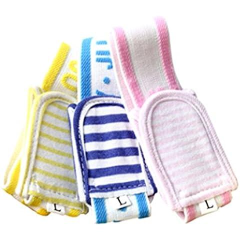 Sunny ju Baby Care regolabile pannolino in cotone puro fisso Cintura 3colori dimensioni L