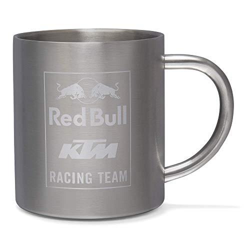 Red Bull KTM Mosaic Steel Mug, Gris Unisex One Size T-Shirt, Red Bull KTM Factory Racing Original Bekleidung & Merchandise