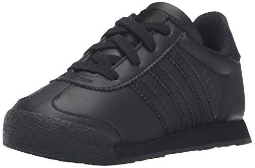 adidas Originals Kids' Samoa I Sneaker, Black/Black/Black, 6 M US Toddler (Toddler Adidas Sneaker)