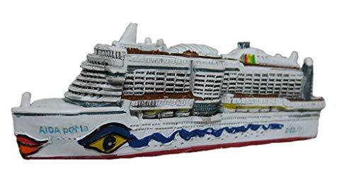 Unbekannt MS Aida Perla Boot Schiff Miniatur Kreuzfahrt Schiffsreise Aidaperla