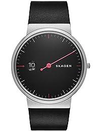 Skagen Herren-Armbanduhr Analog Quarz Leder SKW6236