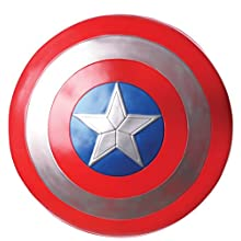 Rubie's Official Marvel Avengers 24-inch Captain America Shield Adults - One Size Costume Accessory