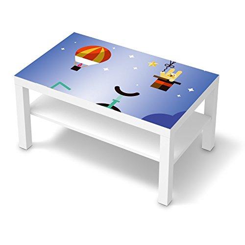 creatisto Jugendzimmer Accessoires für IKEA Lack Tisch 90x55 cm   Möbel-Tattoo Dekoaufkleber   Ideen für IKEA Möbelfolie Kinder-Zimmer Innendeko   Kids Kinder Schlummerland