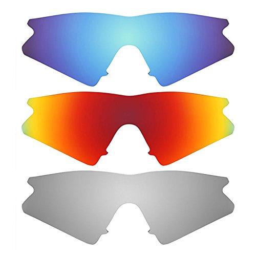 Revant Ersatzlinsen für Oakley M Frame Sweep Polarisiert 3 Paar Kombipack K014