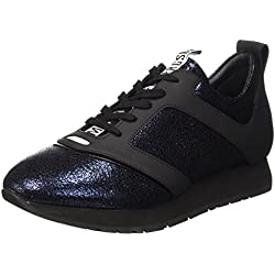 Bikkembergs Runn-ER 786 Shoe W Leather Cracked, Scarpe Low-Top Uomo