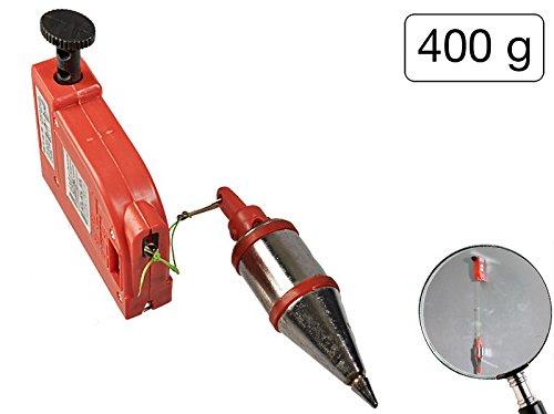 Senklot 400 g + Magnet mit automatischem Einzug und 4,5 Meter Länge
