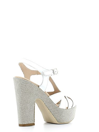KEYS 5125 Sandalo tacco Donna Bianco