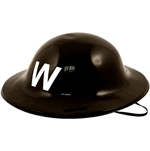 HELMET WARDEN PLASTIC ONE (Kostüm Game Warden)