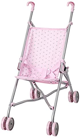 Bayer Design 30189AA - Puppen-Buggy, rosa