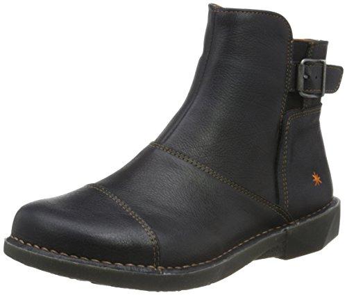 ART Damen Bergen Kurzschaft Stiefel, Schwarz (Black), 39 EU (Schuhe Stiefel Art)