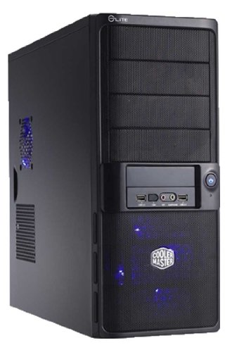 Ankermann Twister i3 Desktop-PC (Intel Core i3 2120, 3,3GHz, 8GB RAM, 500GB HDD, Intel HD 3000, DVD, Win 7 Pro) schwarz