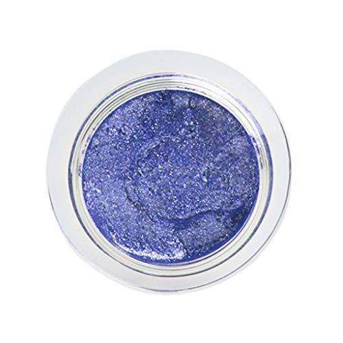 wyxhkj Ombre à paupières Poudre à haute brillance métallique de perle de scintillement de maquillage de fard à paupières cosmétique (B)