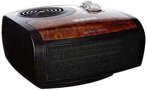 Usha Fh 1212 Ptc 1500-watt Fan Heater (black/brown)