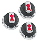 Weber Gas Grill Genesis Series Knob Set of 3 knobs 2011+ Grills 88848