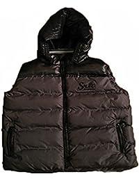 SRK-chaqueta sin mangas Chico 3/8 años EDACO38- negro