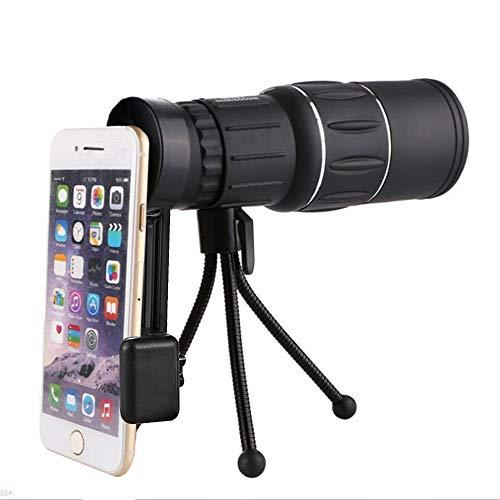 MUYU HD Clip-on Kamera Objektiv Teleskop Fokus für Camping Wandern 16 * 52 Monocular Teleskop für iPhone 7 / 6S / 6 Plus / 5/4, Samsung, HTC und andere Smartphones (Iphone 6 Plus-kamera-objektiv)