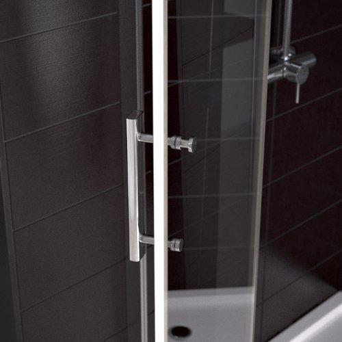Duschkabine Duschtasse Duschabtrennung Duschwanne Dusche 80x80cm Nano -