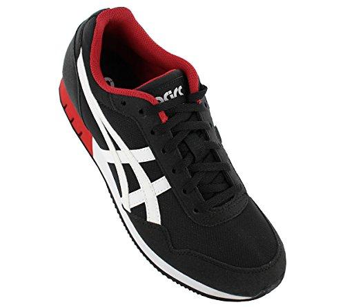Asics, Sneaker uomo Nero/Bianco