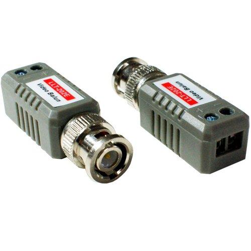 Paar BNC Baluns-bis zu 600m - CCTV Composite Video Signal zu CAT5E-Kabel Extender Composite-video-extender